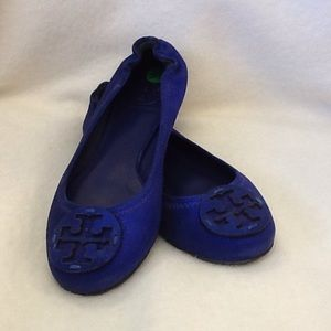 Tory Burch Royal Blue Ballet Flat size 5.5